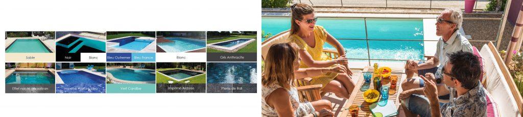 Choisissez le revêtement de votre piscine, venez découvrir un large choix dans votre magasin Aquilus à Concanrneau