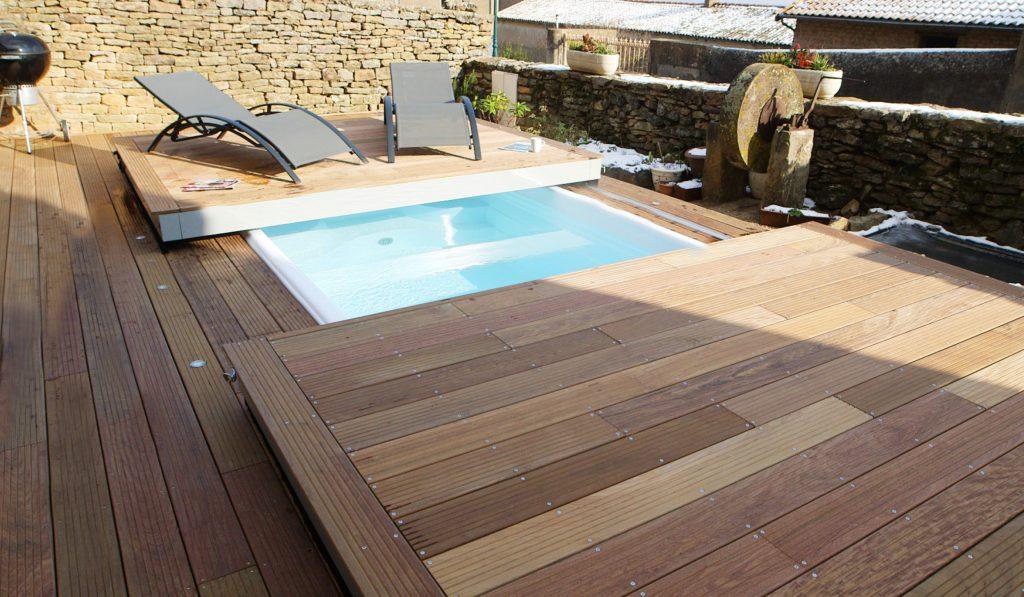 La M'Water et son plancher escamotable sont idéales pour les petits espaces