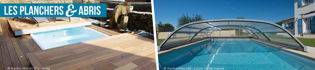 planchers et abris pour piscines Aquilus