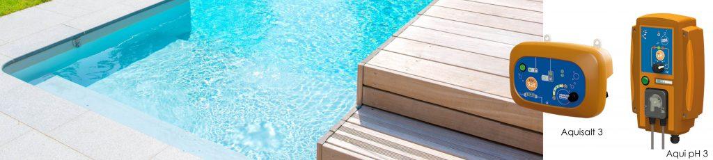Gamme d'équipements pour votre piscine Aquilus