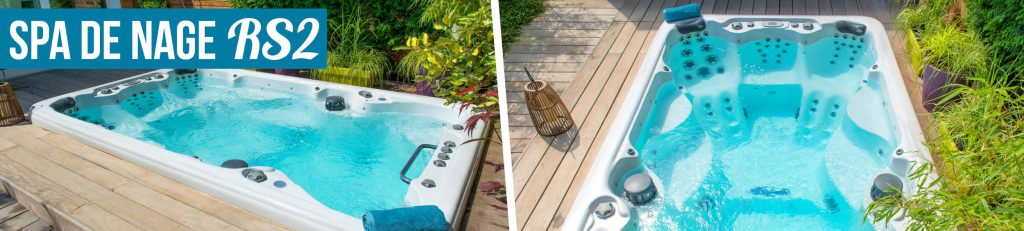 Aquilus vous propose également des spas de nage